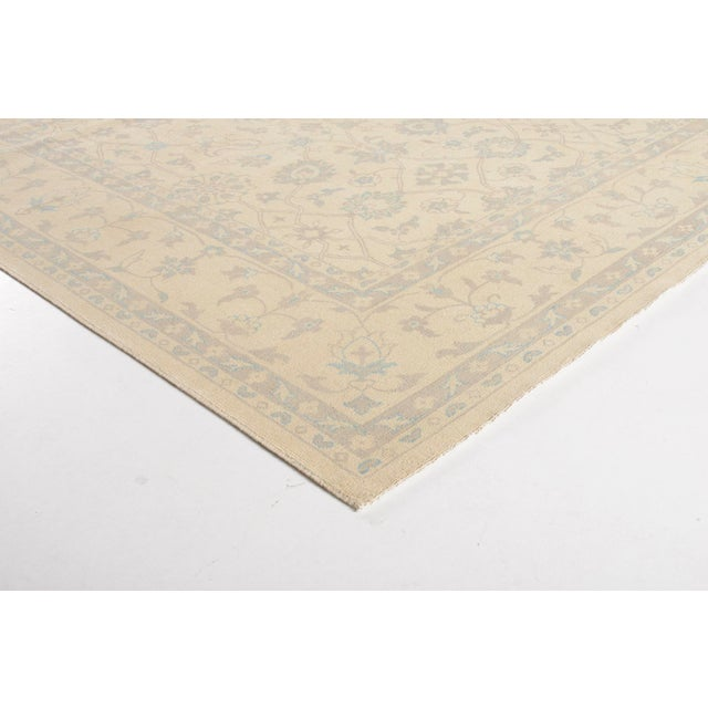 Traditional Stark Studio Rugs Traditional New Oriental Oushak Wool Rug - 9′2″ × 12′2″ For Sale - Image 3 of 4