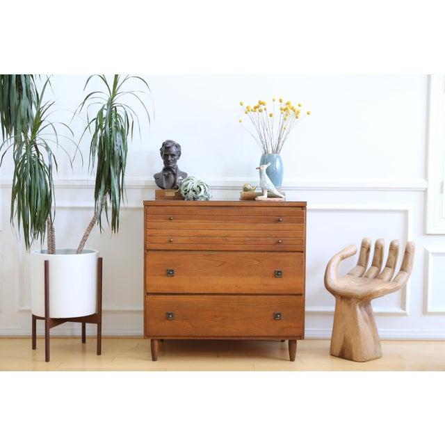 Mid Century Modern Three Drawer Chest / Cabinet - Image 3 of 8