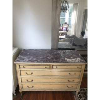 Antique Marble Top French Chest of Drawers Preview
