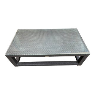 Restoration Hardware Del Mar Coffee Table For Sale