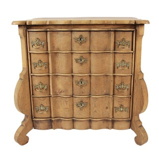 19th Century Holland Oak Chest For Sale