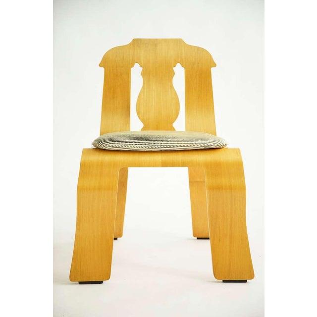 Mid-Century Modern Pair of Robert Venturi Empire Chairs For Sale - Image 3 of 10