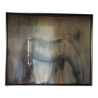 Mystic Horse Oil Painting by New York Listed Artist For Sale
