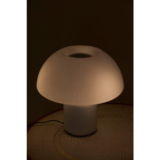 Iron Mushroom Table Lamp Mod. 625 by Elio Martinelli for Martinelli Luce, Italy For Sale - Image 7 of 11