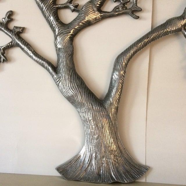 Mid-Century Industrial Aluminum Tree of Life - Image 7 of 11