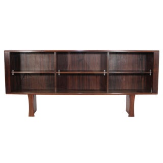Mid Century Danish Rosewood Bookcase For Sale