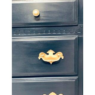 Vintage Ethan Allen Blue Painted Sideboard or Dresser Preview
