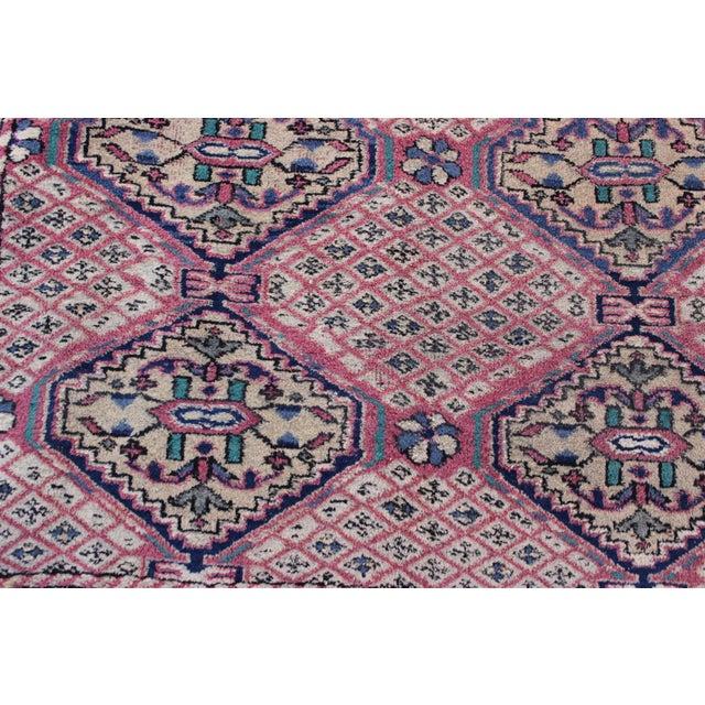 Islamic Vintage Turkish Oushak Rug - 3′1″ × 6′5″ For Sale - Image 3 of 10