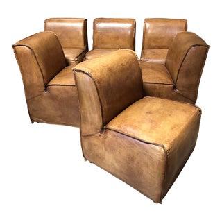 Restoration Hardware Bruno Chairs - Set of 6 For Sale