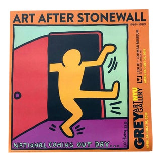 "Keith Haring ""Art After Stonewall"" Exhibition Poster For Sale"