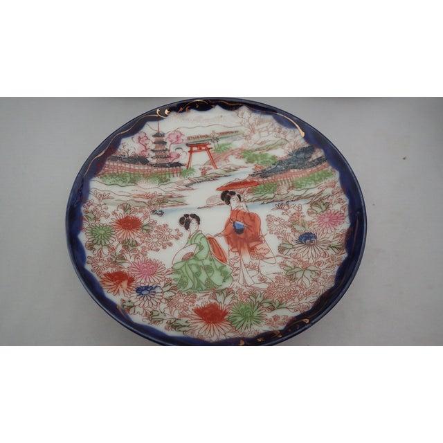 Ceramic Antique Japanese Tea Set For Sale - Image 7 of 11