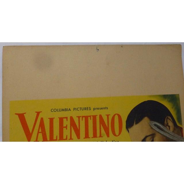 1950s Valentino Movie Lobby Card - Image 3 of 11