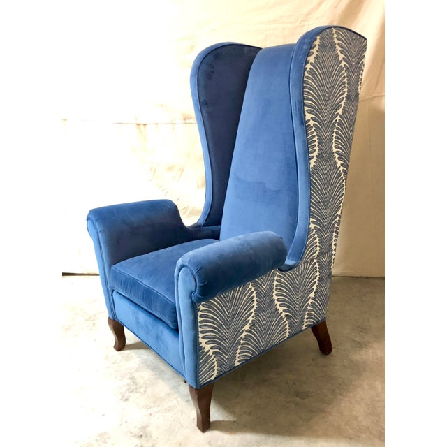 This listing is for a pair of beautiful newly reupholstered wingback chairs in mint condition. Cushions have also been...