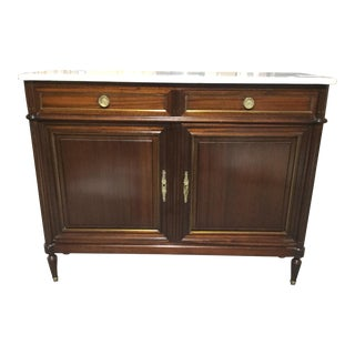 1920s French Mahogany Buffet For Sale