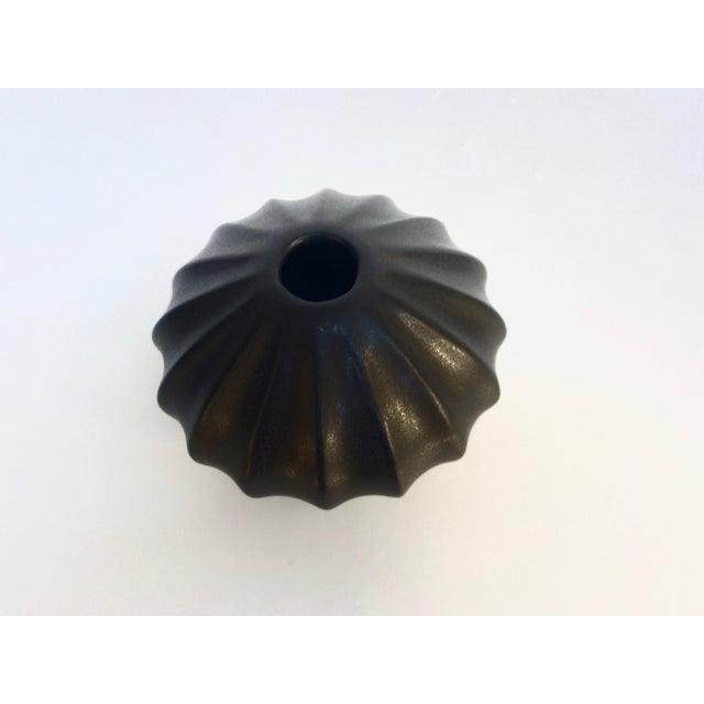Jonathan Adler Black Bud Vase - Image 3 of 5