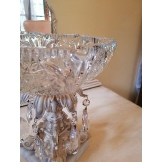 Vintage Pressed Glass Hollywood Regency Ashtray Preview