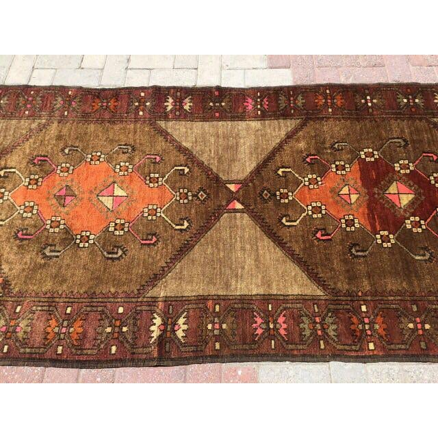 Vintage Hand Knotted Anatolian Rug For Sale In Raleigh - Image 6 of 7