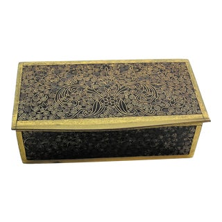 Antique Chinese Cloisonne Trinket Box For Sale