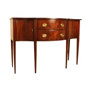 Hickory Chair Federal Style Mahogany Sideboard For Sale