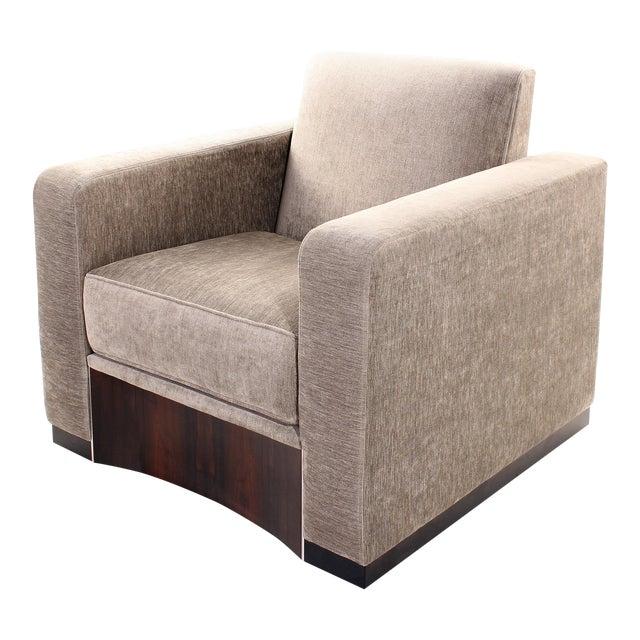 Ziricote Lounge Chair For Sale
