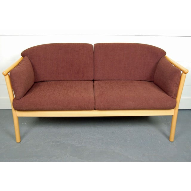 Vintage Swedish Modern Loveseat - Image 2 of 5