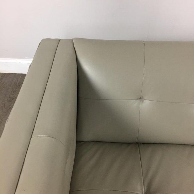 Z Gallerie Modern Tufted Sofa - Image 4 of 11