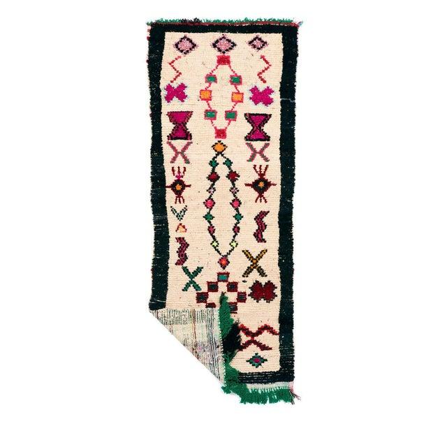 Vintage Azilal Handwoven Rug - 3′7″ × 8′8″ - Image 2 of 2