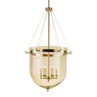Brass Lantern With Glass For Sale