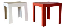 Image of Fiberglass Side Tables