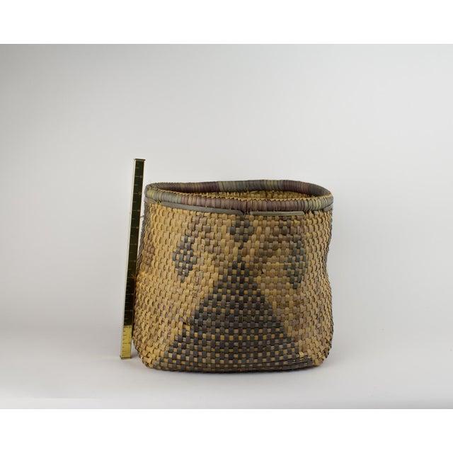 Vintage Tribal Basket For Sale - Image 11 of 12