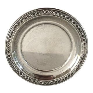 Rogers Sterling Silver Ring Dish / Butter Pat For Sale