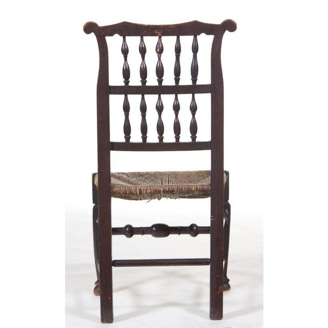 English 19th Century Farmhouse Chair For Sale - Image 4 of 5