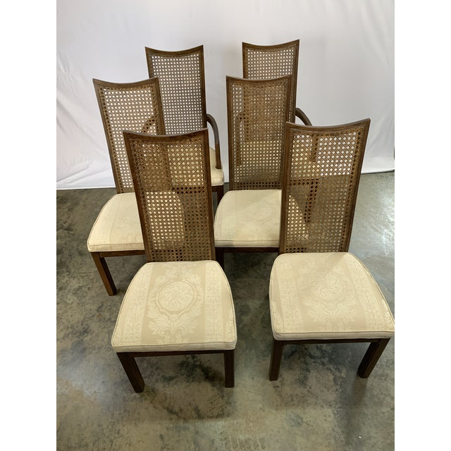 Mid 20th Century Baughman Style Mid-Century Modern American of Martinsville Dining Table and Chairs -- Set of 7 For Sale - Image 5 of 13