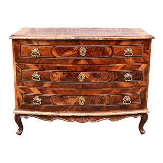 18th Century German Marquetry Chest of Drawers