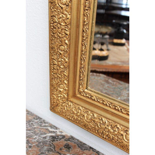 Early 20th Century French Gold Gilt Mirror - Image 4 of 7