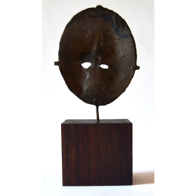 Mid Century Modern Bronze Sculpture, France 1960s For Sale In Los Angeles - Image 6 of 7