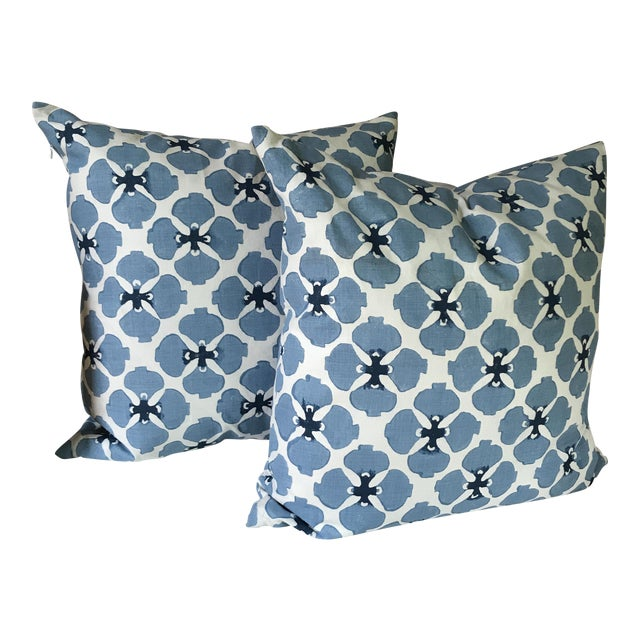 Galbraith and Paul Linen Pillows - A Pair - Image 1 of 8