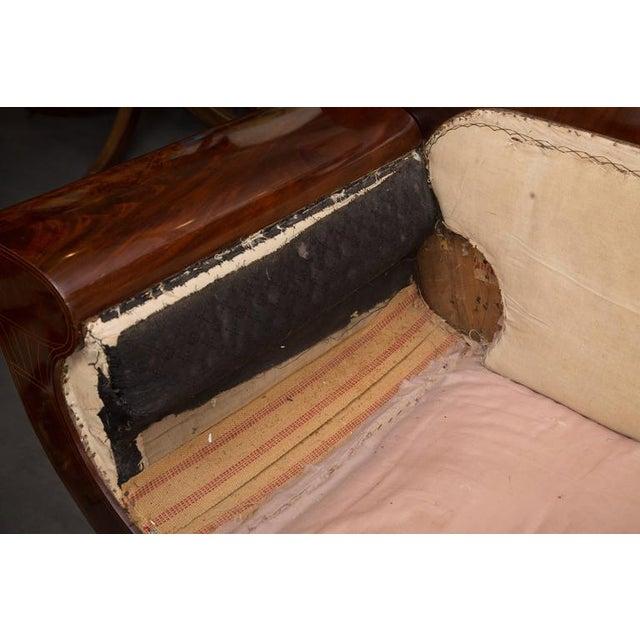 19th Century Mahogany Biedermeirer Sofa For Sale - Image 10 of 10