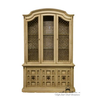 """Stanley Furniture French Provincial 52"""" Antique White China Cabinet Preview"""