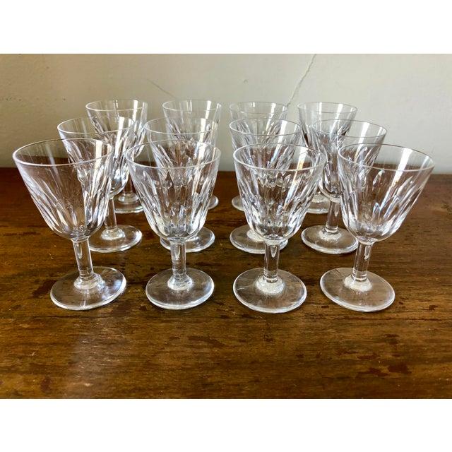Baccarat Vintage Baccarat Crystal Cordials- Set of 12 For Sale - Image 4 of 4