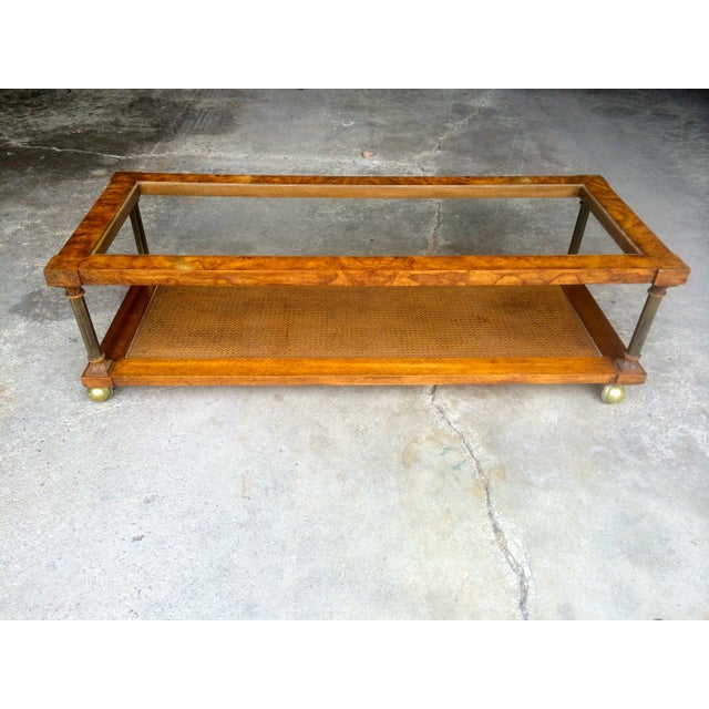 Vintage Hollywood Regency Coffee Table - Image 2 of 7