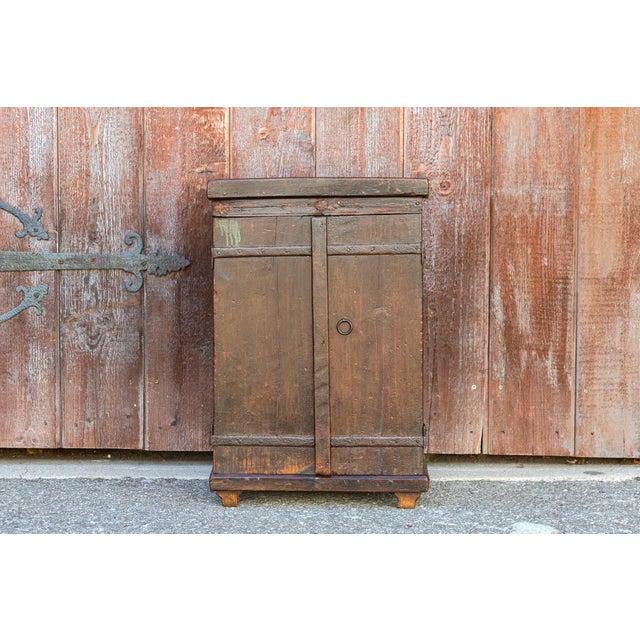 Jalaka Old Door Nightstand Cabinet Chairish