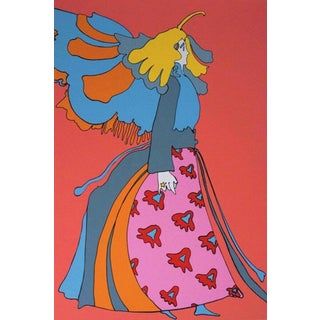 Peter Max Angel 1978 For Sale