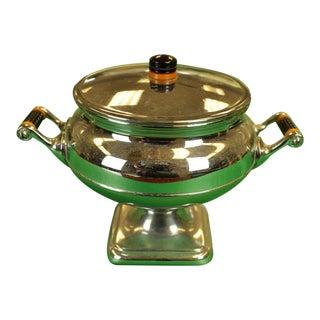 1950s Vintage Manning-Bowman Coffee Percolator & Sugar Cube Dish