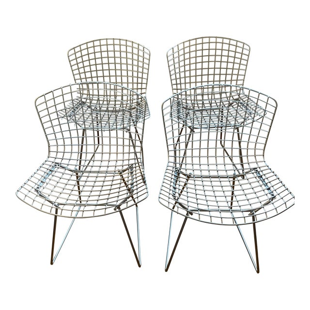 Knoll Bertoia Chairs - Set of 4 For Sale