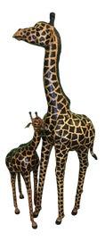 Image of Animal Skin Statues