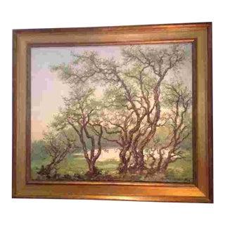 Hans Langtved(Danish 1892-1979) Oil Painting For Sale