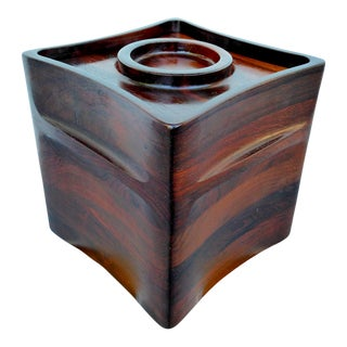 Rosewood Ice Bucket by Jens Quistgaard for Dansk For Sale