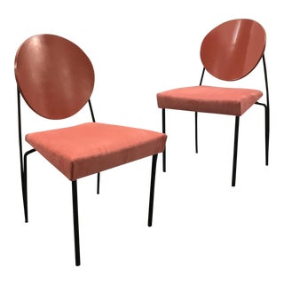 Modernist 1980s Dakota Jackson Vik-Ter Chairs — a Pair For Sale