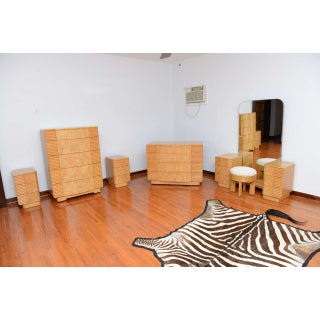 American Art Deco Burled Maple Eight-Piece Bedroom Suite Preview